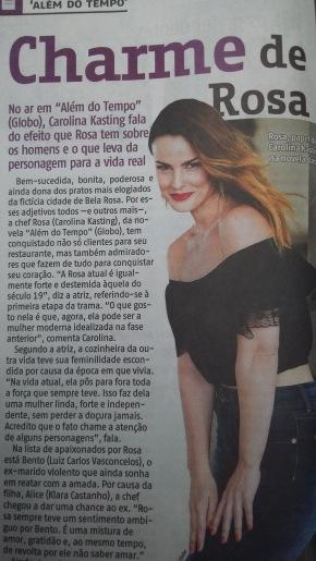 Além do Tempo - Rede Globo